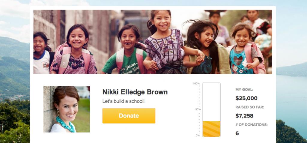 Nikki PoP Fundraiser