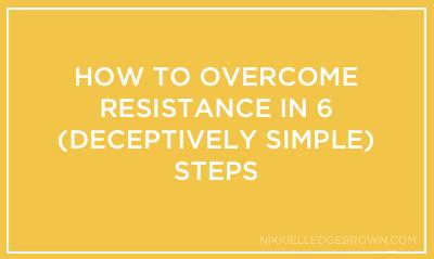 Ariel vs. Ursula- How to Overcome Resistance