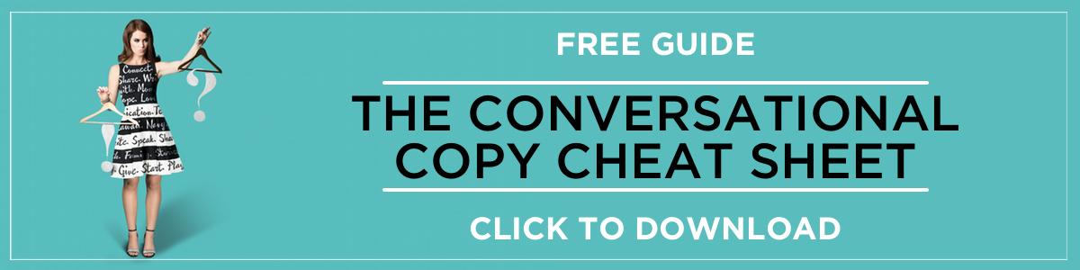 Convo Copy Cheat Sheet