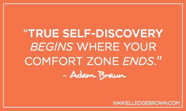 Comfort Zone Adam Braun