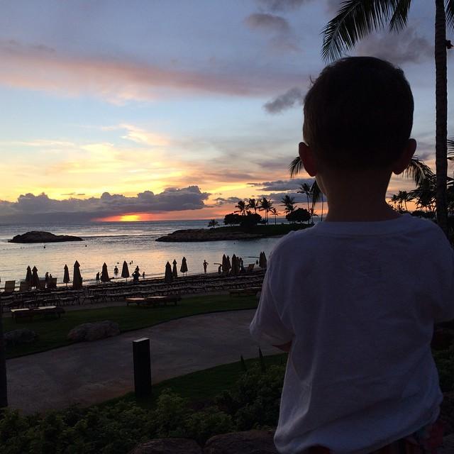 B Sunset